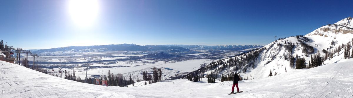 Skiing in Jackson Hole, WY